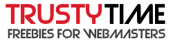 Freebies for webmasters @ Trusty Time